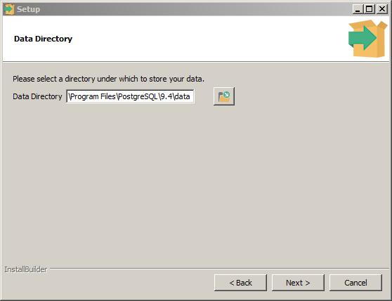 pgwin-data_directory